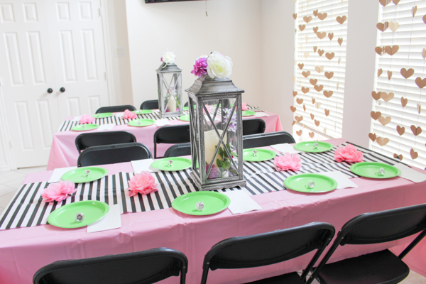 Garden Themed Bridal Shower Decorations Decor